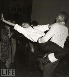 Let's enjoy Bianca Jagger dancing with Sterling St. Jacques.