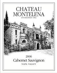 """2006 Chateau Montelena Cabernet Sauvignon   """"Delicious Cali Cab, a touch soft but it's 6 years old and probably at it's peak in my opinion, interesting in contract to the Stags' Leap Winery's Merlot from the same vintage - Dark, full bodied with a nose of blackfruit, plum, cedar, mocha, sweet flowers and vanilla, decent structure and very well integrated, silky smooth on the palate with terrific length, nice and tasty!""""  Drink between 2011 and 2015. $55"""