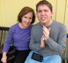 What Can be Done to Help Parents of Autistic Adults. Renée Gordon and her son, Alex, 22, who has autism. Photo courtesy of the Gordon family