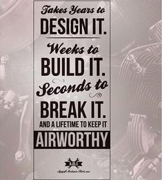 Aviall is a main arrangements supplier of secondary selling production network administration administrations for the aviation and safeguard businesses and is Aviation Quotes, Aviation Humor, Aircraft Maintenance Engineer, Aviation Mechanic, Pilot Humor, Pilot Quotes, Job Motivation, Airplane Wallpaper, Engineering Quotes
