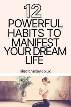 These 12 habits are perfect to learn manifestation for beginners! Manifest money fast and use the law of attraction to live out your best life. #manifestation #lawofattraction Your Best Life Now, Life Is Good, Finding Happiness, Bettering Myself, Money Fast, How To Manifest, Growth Mindset, Dream Life, Self Improvement