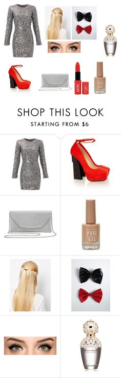 """""""Mom's Night Out"""" by photogrpahyphreak on Polyvore featuring Slate & Willow, Aperlaï, M&Co, NYX, Orelia, Torrid and Marc Jacobs"""