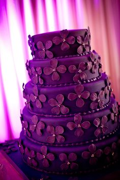 when you want a special cake make it lavender. No questions everyone will know it is a special day