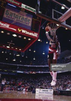 Clyde Drexler, Portland Trailblazers, Slam Dunk, Nba Players, All Star, Basketball Court, Game, History, Sports