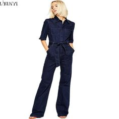 Be effective with this product Europe 2017 Denim... and stop doubting yourself, see it on Costbuys http://www.costbuys.com/products/europe-2017-denim-overalls-women-fashion-handsome-lacing-slim-half-sleeve-tooling-denim-jumpsuit-casual-rompers-for-women?utm_campaign=social_autopilot&utm_source=pin&utm_medium=pin