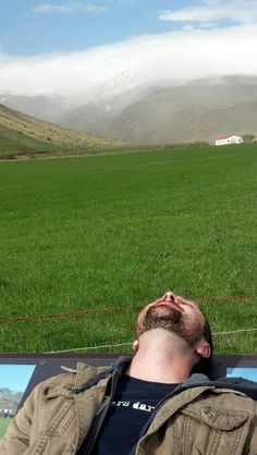 Yes, there is grass in Iceland.  But this is literally all we saw, Iceland