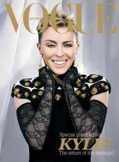 Kylie Minogue by Karl Lagerfeld Vogue Australia December 2006 Vogue Magazine Covers, Fashion Magazine Cover, Fashion Cover, Vogue Covers, High Fashion Photography, Glamour Photography, Lifestyle Photography, Editorial Photography, Kylie Minogue