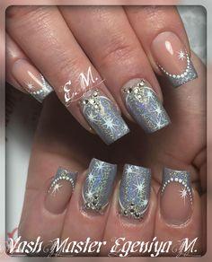 Nails 2017, Winter Nails, Nailart, Manicure, Nail Designs, Japanese, Beauty, Fingernail Designs, Cute