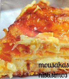 Greek Recipes, Vegan Recipes, Vegan Food, Cookbook Recipes, Cooking Recipes, Lasagna, Quiche, Breakfast, Ethnic Recipes