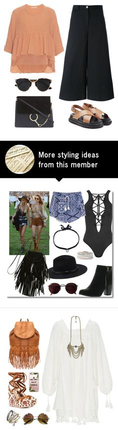 """""""Spring Chic"""" by junglover on Polyvore featuring Chloé, Dolce&Gabbana, Christian Dior and Marni"""