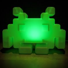 Space Invaders Alien Lamp from Firebox.com