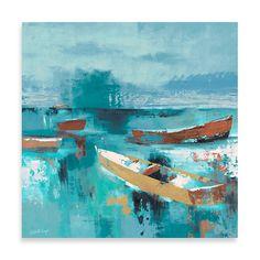 Fabrice de Villeneuve Studio Sailing Away Wall Art