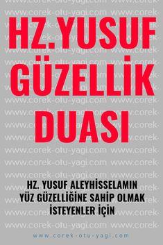 Hz. Yusuf Aleyhisselamın Güzellik Duası – corek-otu-yagi.com Allah Islam, Karma, Einstein, Prayers, Religion, Faith, Istanbul, Crafts, Crochet Throw Pattern