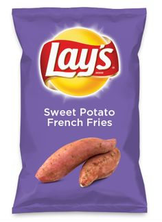 Wouldn't Candied Sweet Potato be yummy as a chip? Lay's Do Us A Flavor is back… Sweet Potato Dip, Sweet Potato Cinnamon, Crispy Sweet Potato, Sweet Potato And Apple, Loaded Sweet Potato, Sweet Potato Casserole, Potato Pie, Potato Onion, Potato Cassarole