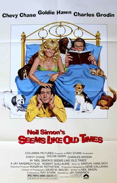 Seems Like Old Times 1980 Authentic x Original Movie Poster Very Fine Goldie Hawn Comedy U. One Sheet Classic Movie Posters, Original Movie Posters, Classic Movies, 80s Movies, Great Movies, Movie Tv, Movies Of The 80's, Movie Theater, Theatre