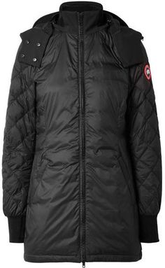 Canada Goose Stellarton Quilted Shell Down Coat - Black
