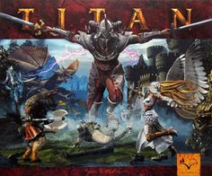 Titan: An epic quest of creatures and warlocks. Raise your armies and defeat your opponents in a world of legends and fantasy...