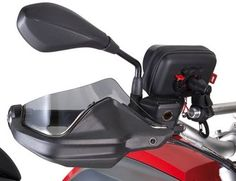 GiVi hand guard extenders (tint) - R1200GS LC, R1200 Adventure LC, F800 Adventure 2013 on, S1000XR