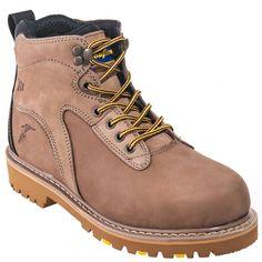 Goodyear Footwear Goodyear Boots Men's Tan 6-Inch Leather EH Darlington Slip-Resistant Boots GY6206,    #GoodyearFootwear,    #GY6206,    #Men'sBoots