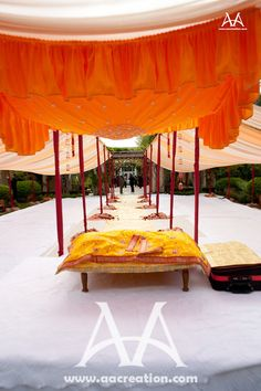 Punjabi Wedding  Oh gosh, I really want an outdoor ceremony soo bad.