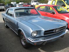 1965 Mustang that got traded in.