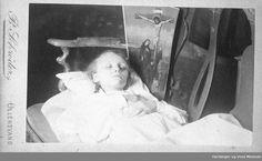 Marie Gørbitz Lahn på dødsleie