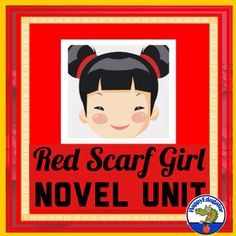 4 weeks of vocabulary based on the novel Red Scarf Girl by Ji Li Jiang. The lists can be projected on your white board, and students can fill in the words on their matching study guides. You can have students put their Easel Activities, Pre Reading Activities, Grammar Practice, Vocabulary Words, Teaching Language Arts, English Language Arts, Red Scarves, Literature, The Unit