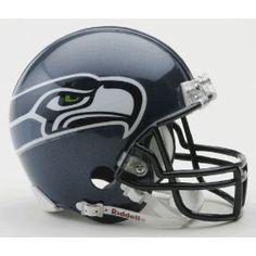 Seattle Seahawks 2002 to 2011 NFL Mini Football Helmet