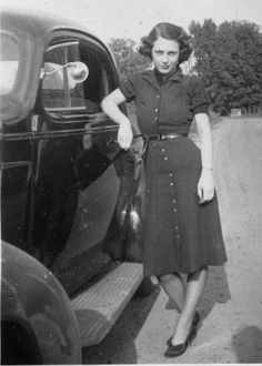 Confident girl Ella - Owensboro, KY [1938]