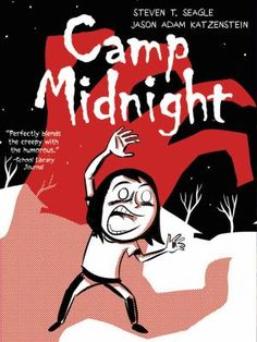 Ann laughed out loud while reading CAMP MIDNIGHT by Steven T. Seagle, a new graphic novel from the writer of Big Hero 6. Reluctant Skye is sent to summer camp by her dad and her monstrous stepmother. But when she gets on the bus to the wrong camp she finds it hard to fit in, as everyone there is a full-fledged monster! What's a normal human to do? This is a funny horror story with cool art.