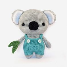 Cute Koala Bear amigurumi pattern by DIY Fluffies