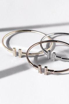 Tiffany & Co. | T wire bracelets
