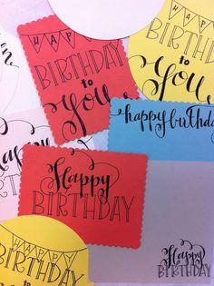 Happy Birthday Stationary