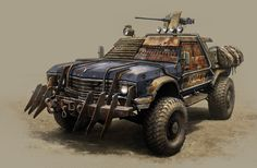 Artstation - killer, vitaliy smyk mad max road, bug out vehicle, post apocalyptic Zombie Survival Vehicle, Zombie Apocalypse Survival, Bug Out Vehicle, Nuclear Apocalypse, Mad Max Road, Post Apocalyptic Art, Death Race, Custom Hot Wheels, Ex Machina