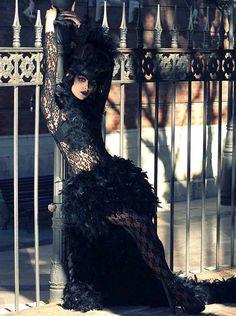 Jessica Gonzalez for Dark Beauty Magazine