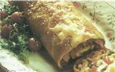 αν η κατσαρόλα είχε λαλιά: Ρολό με ζαμπόν και τυρί!!