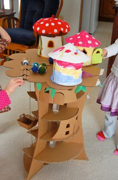 70  Cool Homemade Cardboard Craft Ideas, http://hative.com/cool-homemade-cardboard-craft-ideas/,