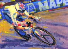 PAINTING LE TOUR by Rob Ijbema