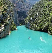 Gorges Du Verdon Provence France Kayaking stacey and I