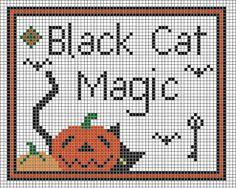 Woolensails: Free Halloween Cross Stitch!