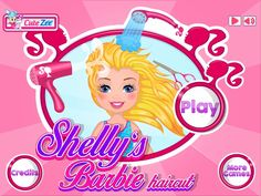 Create the most amazing Barbie Haircut! http://www.cutezee.com/shellys-barbie-haircut