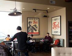 Branding Ascendancy: Fuel Coffee Shop in Brighton, MA.