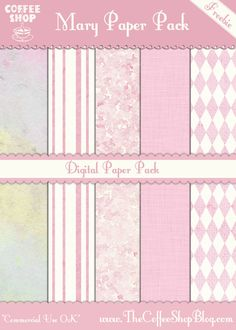 The CoffeeShop Blog: Textures and Digital Paper