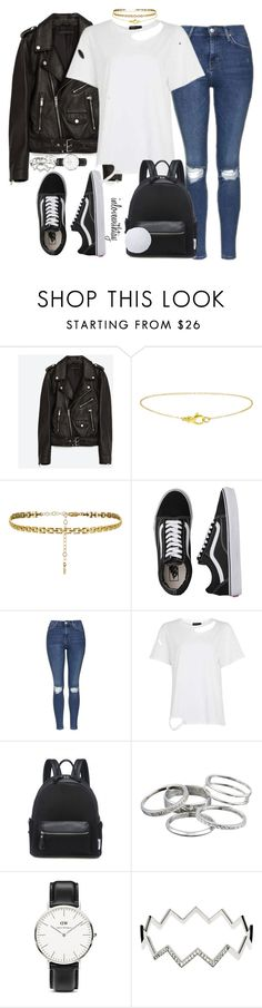 """27❤"" by inlovewithtay ❤ liked on Polyvore featuring Jakke, Vans, Topshop, Kendra Scott, Daniel Wellington and Melissa Odabash"