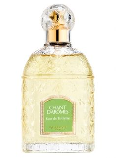 Guerlain Chant d'Aromes was created by Jean-Paul Guerlain in 1962. This is a fragrance for a woman which wears perfume for the sake of her pleasures only. It is a floral bouquet that talks a language of flowers. This perfume contains only natural essences and belongs to the 'chypre' olfactory group. The main notes are aldehydes, gardenia, mirabelle, jasmine, cloves, honeysuckle, ylang-ylang, heliotrope, benzoin, oliban and vetiver.
