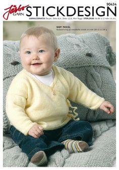 Classic basic baby sweater.