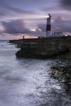 Portland Bill All Lit Up by Chris Frost on 500px
