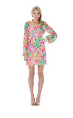 Carleigh Tunic Dress // Lilly Pulitzer