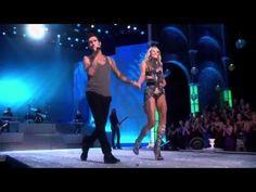 Victoria's Secret Fashion show 2011 Anne Vyalitsyna  Adam Levine Moves l...