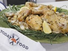 What's the secret to Al Roker's perfect toasted chicken? Crispy, salty skin!